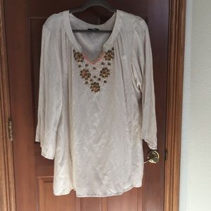 Embellished cloth top